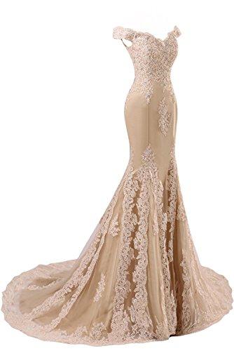 CoutureBridal - Vestido - Estuche - para mujer borgoña 40