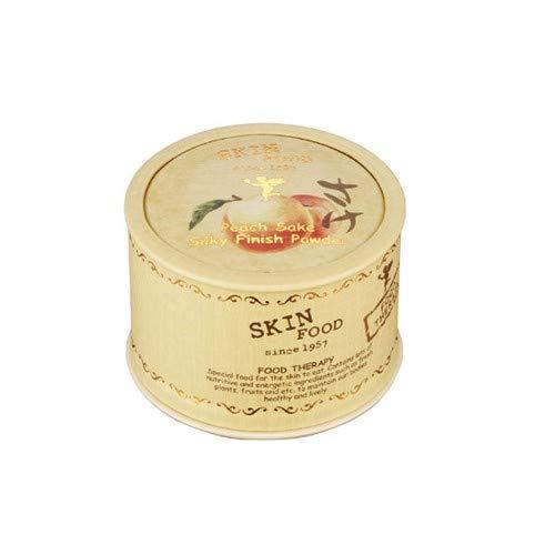 [Skin Food] New Peach Sake Silky Finish Powder for Oliy Skin 15g