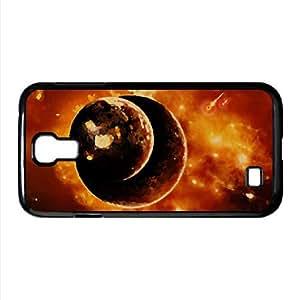 lintao diy Planets Universe 6 Watercolor style Cover Samsung Galaxy S4 I9500 Case