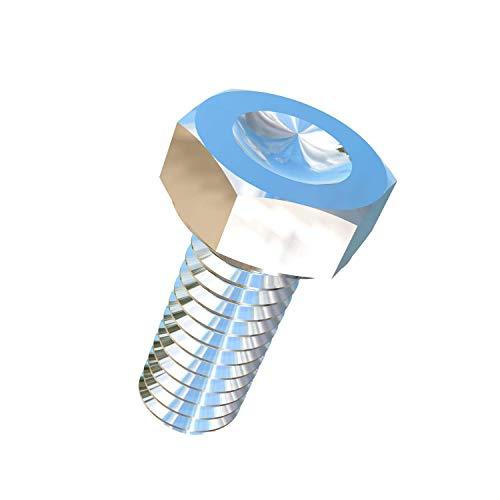 Allied Titanium 0004254, (Pack of 10) 5/16-18 X 3/4 UNC Titanium Hex Head Bolt, Grade 5 (Ti-6Al-4V)
