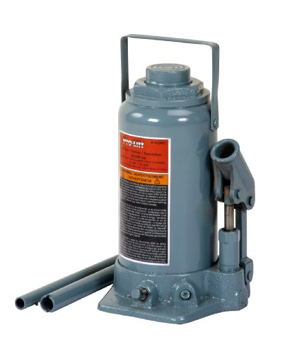 Ton Hydraulic Bottle Jack Press - Pro-LifT B-033NC Grey Hydraulic Bottle Jack - 30 Ton Capacity