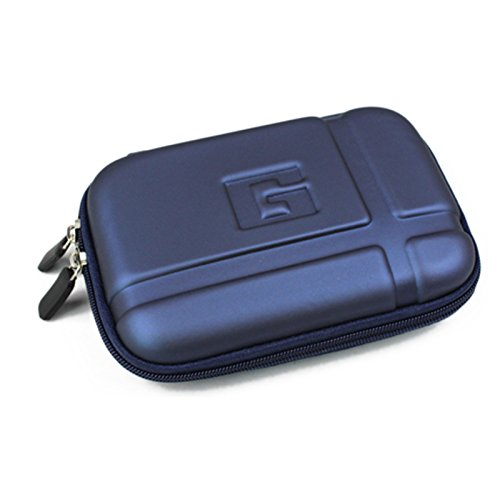 5'' Inch Hard Carrying Travel GPS Case Bag Pouch Protective Shell For 5'' 5.2 Inch Garmin Nuvi 55LM 54LM/54 52LM/52 2597LMT 2577LT 2557LMT 3597LMT TomTom Magellan RoadMate Devices Blue by Teaeshop (Image #4)'