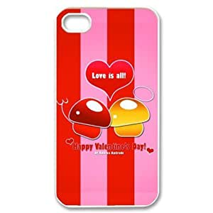 iPhone 5,5s Hard Cover Valentine's day - Phone Back Case by lolosakes by lolosakes