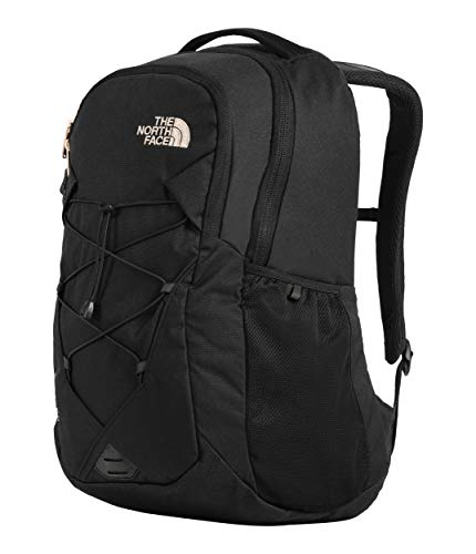 d488ae1ca The North Face Women's Jester Backpack Tnf Black Heather/Burnt Coral  Metallic One Size