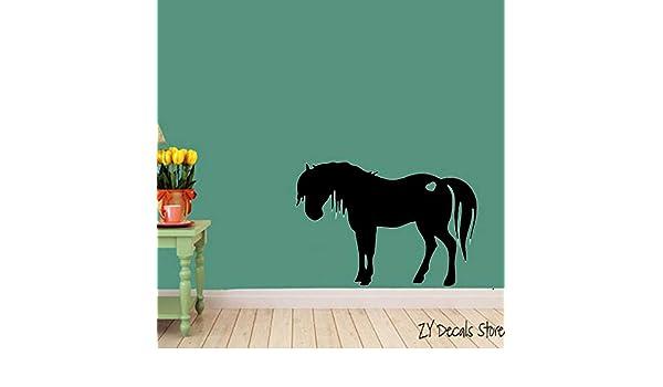 Pony Horse With Heart Vinilo Tatuajes de pared Diseño de ...
