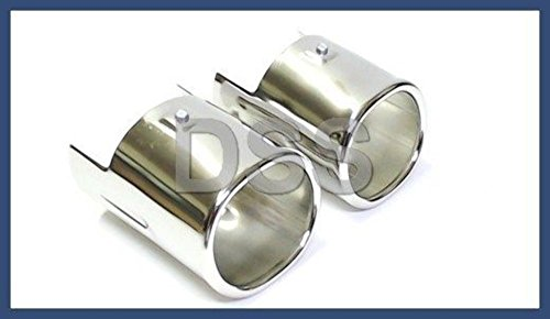 BMW Genuine Oval Chrome Exhaust Tailpipe Tip for E83 X3 E53 X5 (Exhaust E83)