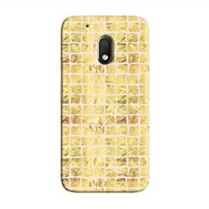 Cover It Up - Gold Pink Break Mosaic Moto G4 Play Hard Case