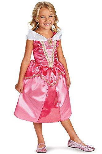 Disgu (Aurora Sparkle Classic Girls Princess Costumes)