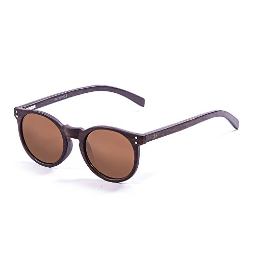 Marron Marrone LIZARDWOOD soleil Ocean Sunglasses de Lunettes Unisexe qxYw6O8