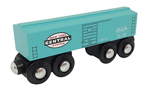 New York Central Boxcar magnetic wooden - New Central Caboose York