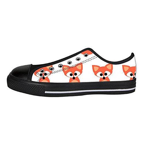 Alto da Ginnastica Shoes Tela Custom di Canvas delle Scarpe I Dalliy Sopra Scarpe Fox Scarpe Lacci Scarpe Men's Le di in 6vwZfp