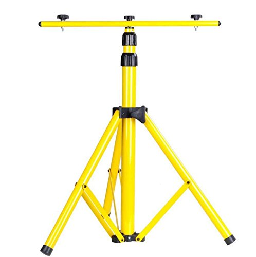 Stand Tripod Light Camera With T Bar For LED Flood Camp Construction Site Work Lighting