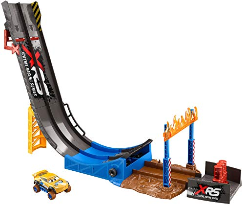 - Disney/Pixar Cars XRS Mud Racing Big Air Drop Playset