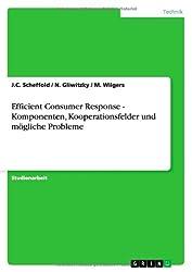 Efficient Consumer Response - Komponenten, Kooperationsfelder und mögliche Probleme