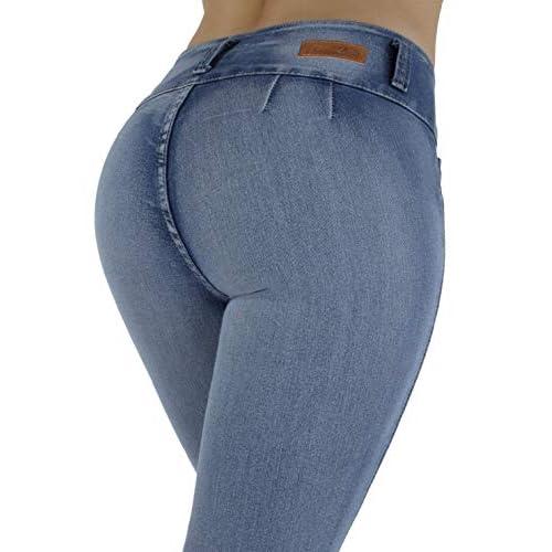 f3e7d7a7c1e Plus/Junior Size Colombian Design High Waist Butt Lift Levanta Cola Skinny  Jeans