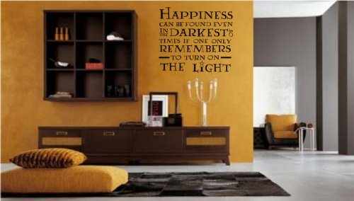 Happiness Can Be Found Style 2 wall decal sticker home décor 23