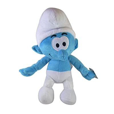 The Smurfs Plush -9 Inch Stuffed Smurf: Toys & Games