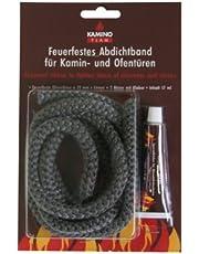 Kamino-Flam afdichtband en glasbreisnoer.