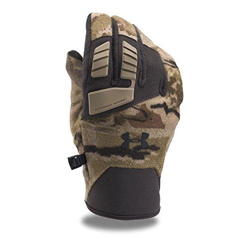 Under Armour Men's Speed Freek Wool Gloves, Ridge Reaper Camo Ba/Cannon, Medium