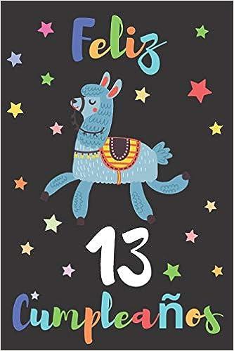 Feliz 13 Cumpleaños: Regalo para Niños o Niñas de 13 Años ...