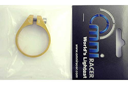 OMNI Racer Worlds LIGHTEST Race-Lite CNC Alloy Seatpost Clamp 34.9-35mm