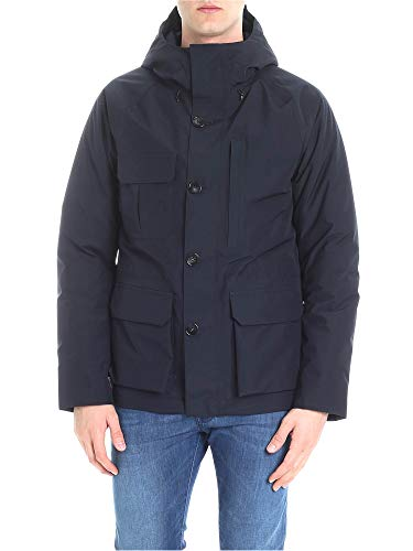 Outerwear Blu Uomo Wocps2689gt023333 Giacca Woolrich Poliestere zqHwx58wP
