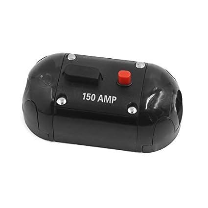 eDealMax 150A Audio AGU circuito tipo fusible Titular del amplificador Para automóvil