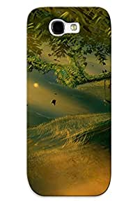 Galaxy Note 2 Ikey Case Cover Skin : Premium High Quality Fabulous Forest Case(nice Choice For New Year's Day's Gift)