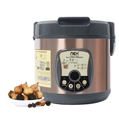 NEX NE-KF20B Black Garlic Fermenter, Bronze by NEX