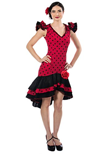 Seeing Red Inc. Womens Women's Spanish Dancer Costume (X-Small) ()