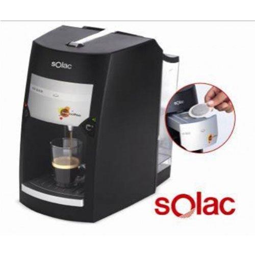 Cegasa - Cafetera expresso 18bar monodosis freecoffee negro solac ...