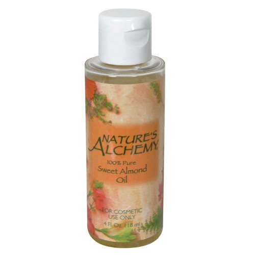 Nature's Alchemy Pure Sweet Almond Oil, 4 Fluid Ounce