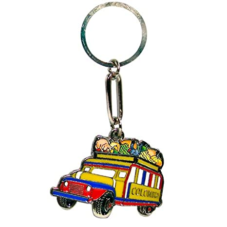 Amazon.com : Keychain COLOMBIA -CHIVA- : Sports Fan ...