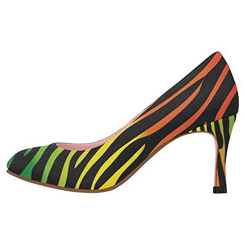 InterestPrint Womens Classic Fashion High Heel Dress Pump Shoes Multi 4 tmPrNfOtum