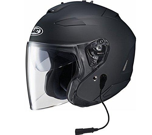 HJC IS-33 II Helmet With Headset Harley 7 Pin Matte Black Xlarge