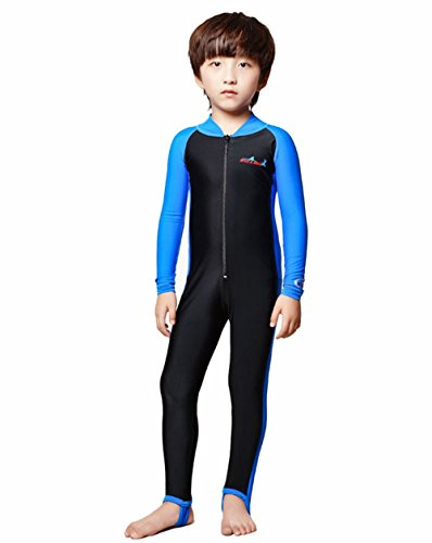 Price comparison product image A Point Wetsuits Youth Full Wetsuit For Kids (S(90-105cm), boy's blue)
