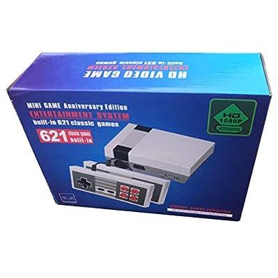 Truwire Classic Games Console, Retro Mini Game System, Retro Mini NES Console, Retro Game Console Built-in Games, 621 Classic Games Mini NES Retro Video Game Console, HDMI HD NES Console: Toys & Games