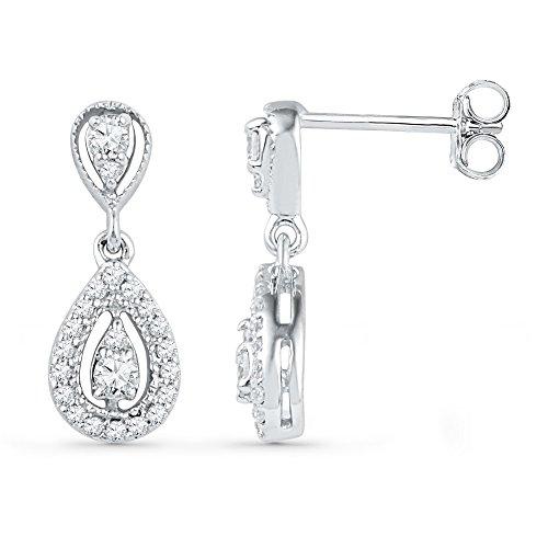 1/3 Total Carat Weight DIAMOND FASHION EARRING by Jawa Fashion