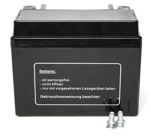 YT4L-B f/ür Malaguti F12 50 DD AC Phantom 2008 Batterie wartungsfrei 12V 5AH YB4L-B YTX4L-BS