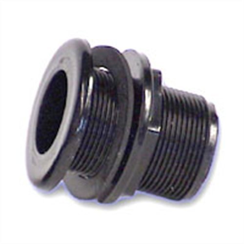 Lifegard Aquatics 1-Inch Double Threaded Bulkhead