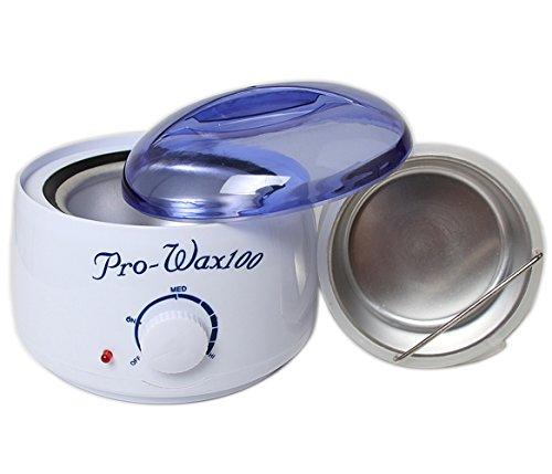 ALINICE Hot Wax Warmer Wax Heater Melt Hard Wax Beands Portable Electric Wax Melting Pot for SPA Wax Warmer for Hair Removal