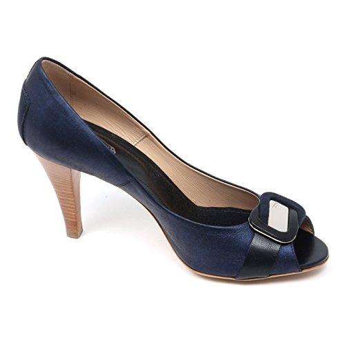 Scarpa Woman Decollete C3708 Donna Blu Shoe Tod's Spuntato wFqgnq7I