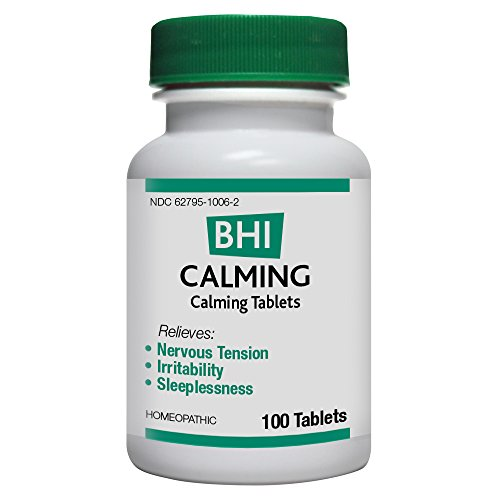 BHI Calming Tablets, 100 Count (Tablets 100 Calming)