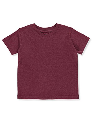 French Toast Little Boys' T-Shirt - deep red, 4 by French Toast (Image #2)