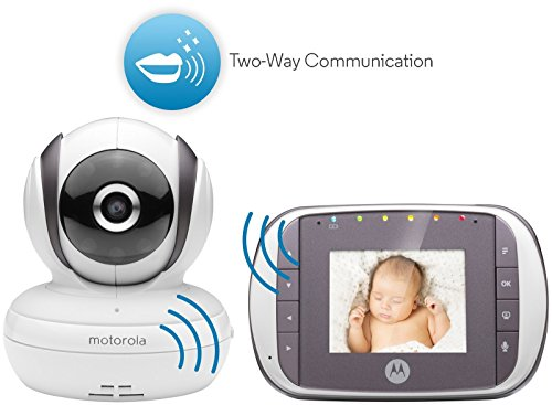 motorola mbp35s digital video baby monitor white baby video monitor reviews and ratings. Black Bedroom Furniture Sets. Home Design Ideas