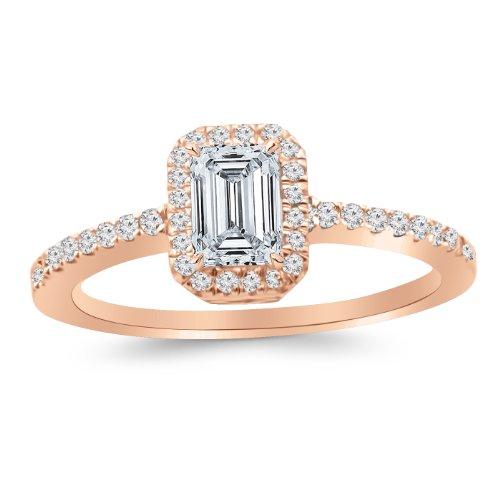 0.75 Ct Emerald Cut Diamond - 8