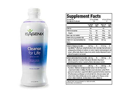 (Isagenix - Cleanse for Life 32 oz Bottle)