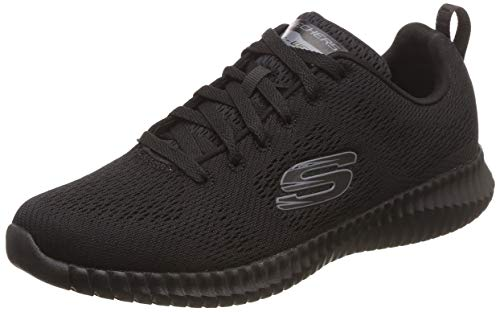 Bbk Ginnastica Flex Skechers black Scarpe Nero Da Leaf Elite Uomo clear OHqBqwvT7