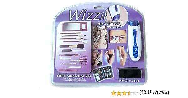 Afeitadora eléctrica para las mujeres. WIZZIT DEPILADORA PELO ...