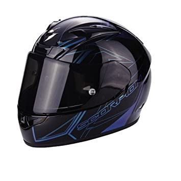 Scorpion Casco Moto EXO-710 AIR Line, Black/Chameleon, XS